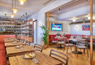 Humble Grape Canary Wharf Corporate Dining, Main Events Space