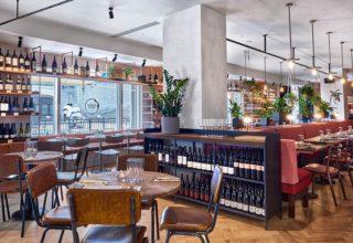 Humble Grape Canary Wharf Wine Tasting, Main Events Space