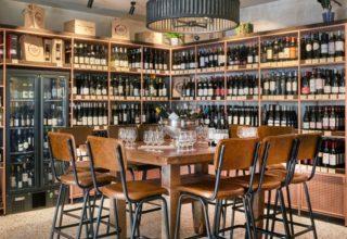 Humble Grape Wine Tasting, Tasting Table