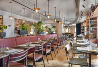 Humble Grape Canary Wharf Private Dining, Main Events Space