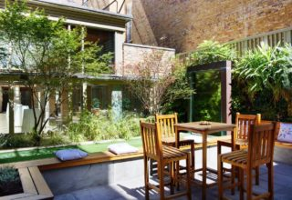 11 Cavendish Square Summer Socials, Private Courtyard