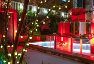 11 Cavendish Square Christmas Party, Private Courtyard