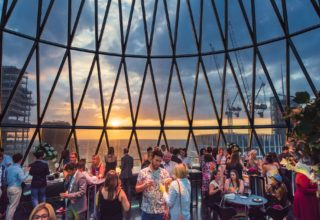 The Gherkin Private Party, Level 39