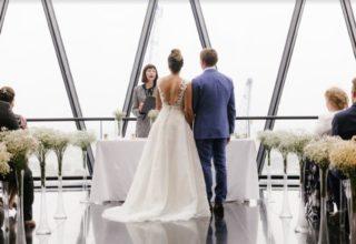 The Gherkin Wedding Venue, Level 40
