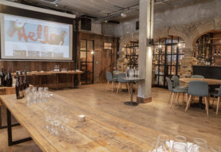 Humble Grape Fleet Street Corporate Event, Main Space