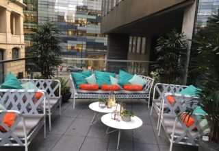 The Listing Corporate Event, Outdoor Terrace
