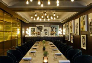 Private Dining Room at Wild Honey Sofitel St James Hotel