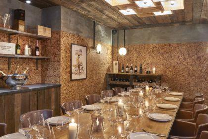 Humble Grape Fleet Street, Private Dining Room