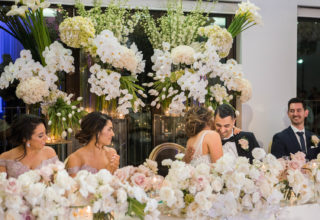 Sergeants Mess wedding top table