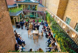 11 Cavendish Square, The Courtyard Garden