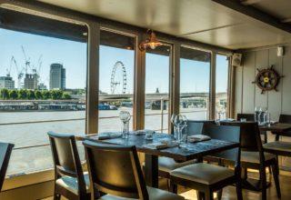 The Yacht London Dining, Restaurant