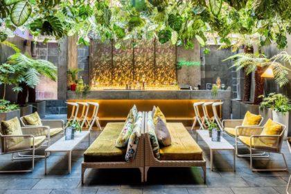South Place Hotel Networking Event, Secret Garden