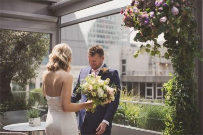 South Place Hotel Wedding Venue, Outside space, Photography by Nick Rose