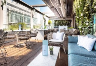 South Place Hotel Social Gatherings, Angler Rooftop Terrace