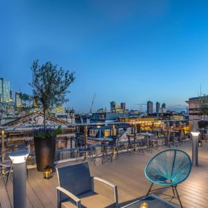 Courthouse Hotel Shoreditch Networking Event, Rooftop Bar1
