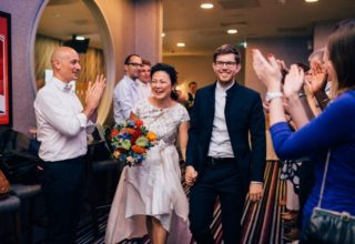 Courthouse Hotel Shoreditch Wedding Venue, The Lobby, Photography by Nikki Vandermolen