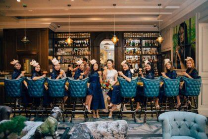 Courthouse Hotel Shoreditch Wedding Venue, The Bar, Photography by Nikki Vandermolen