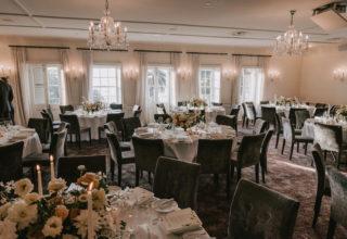 Dunbar House table arrangement