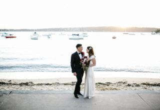 Dunbar House seaside wedding photography 2