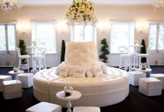 Dunbar House Circular Couch