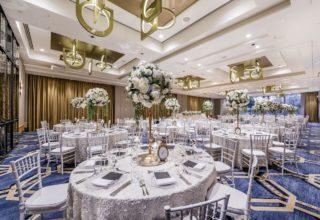 Amora Hotel Sydney Wedding Venue, Whiteley Ballroom