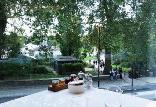 Royal Lancaster Breakfast views, Hyde Lobby Bar