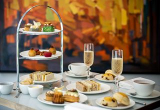 Royal Lancaster London Afternoon Tea, Beech Suite