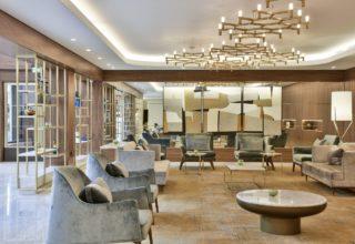 Royal Lancaster Corporate Event, Living Lounge