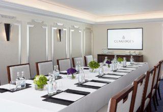 Claridge's Hotel Corporate Meeting, Boadroom