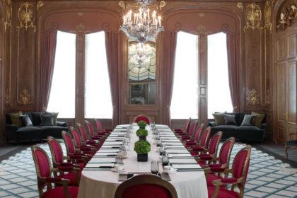 Claridge's Hotel Corporate Event, French Saloon