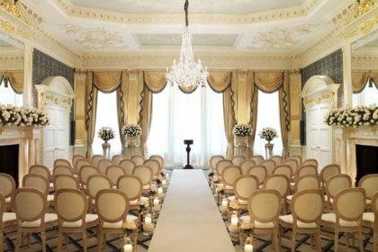Claridge's Hotel Wedding Venue, Drawing Room