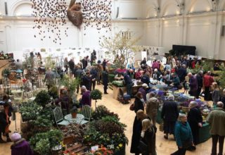 Royal Horticultural Halls Flower Show, The Lindley Hall