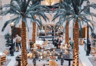 The Landmark Hotel Private Dining, The Winter Garden