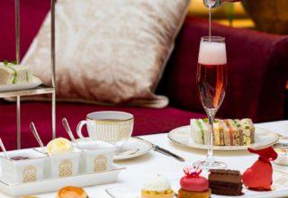 The Landmark Hotel Afternoon Tea, The Wintergarden