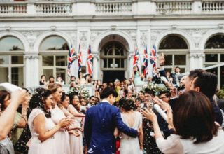 Mandarin Oriental Wedding Venue, Outside entrance, Photography by Graham Nixon
