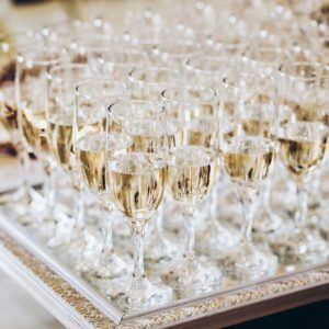 Champagne reception at The Dickens Inn