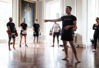 Carlton House Terrace Muay Thai Class, The Music Room