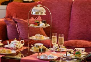 Sofitel London St James Afternoon Tea, Rose Lounge