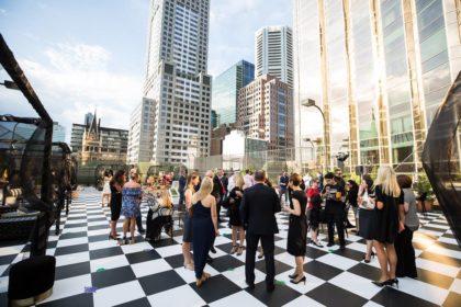 Grand Hyatt Melbourne Networking Event, Outside terrace