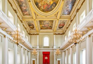 Banqueting House Private celebration, The Main Hall