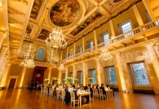 Banqueting House Networking Dinner, The Main Hall