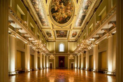 Banqueting House Wedding Venue, Main Hall