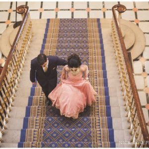116 Pall Mall Wedding Venue, Staircase, Photography by Nick Rose
