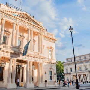 116 Pall Mall Corporate Venue, Outside of the building