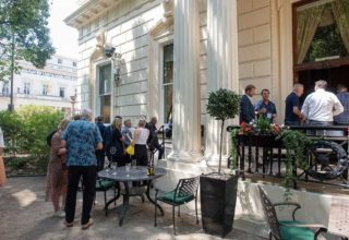 116 Pall Mall Birthday Party, The Terrace