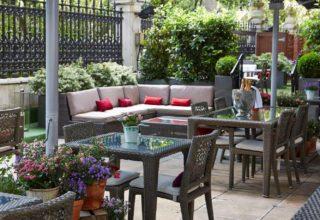 Royal Horseguards Summer Parties, Outdoor Terrace