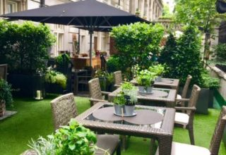 Royal Horseguards Private Dining, Outdoor Terrace