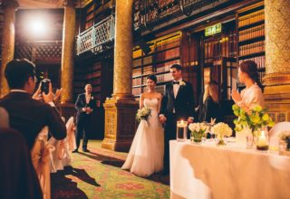 Royal Horseguards Hotel Wedding Venue, Gladstone Library, Photography by The Crawleys