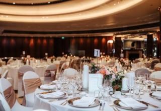 Dinner reception in Trilogy Room Park Hyatt Melbourne