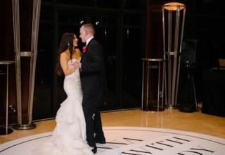 First Dance Park Hyatt Melbourne Wedding Custom Dancefloor
